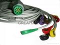 摩托拉心電圖機電纜及導聯線 ,