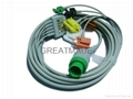 Mennen One Piece 5-Lead cable with IEC