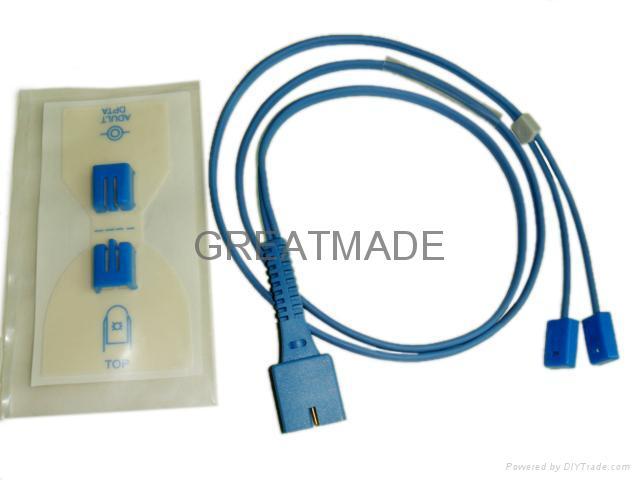 Nellcor Disposable positioning tape with multi-site spo2 sensor  1