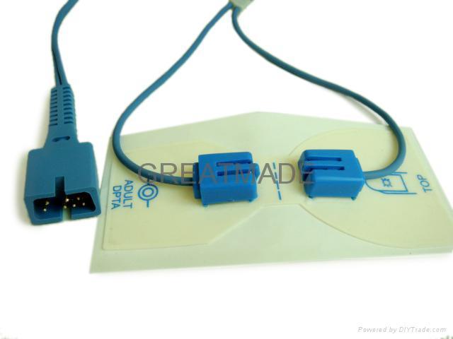 Nellcor Disposable positioning tape with multi-site spo2 sensor  2
