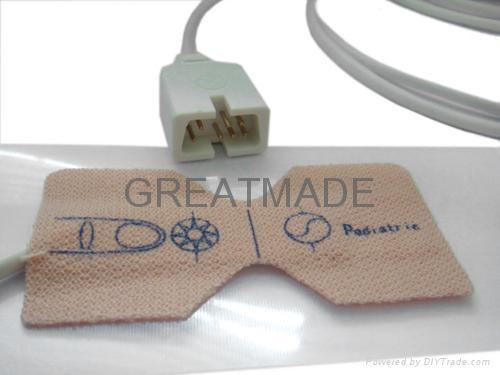 Pediatric disposable spo2 sensor (NON-Woven ) 1
