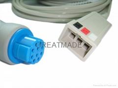 徳恩三导电缆 (ASP 接口)
