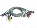 Din1.5 动态心电10 导联线