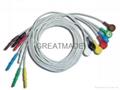Din1.5 动态心电7 导联线