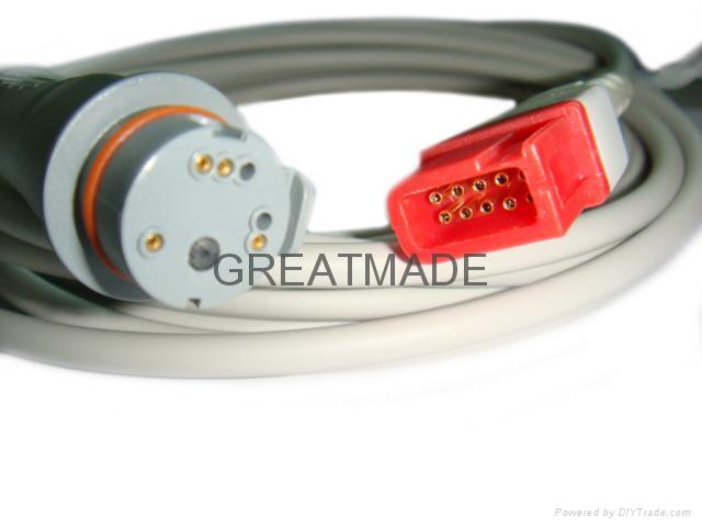 Spacelab- BD IBP transducer adapter cable  1