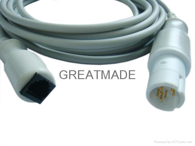 德尔格-雅培有创血压电缆