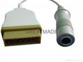 GE-Marquette temperature probe adapter cable