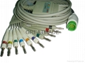 Spacelab Ultraview ekg cable ,17PIN