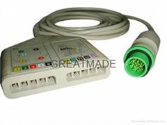 Fukuda Multi-link ECG trunk cable