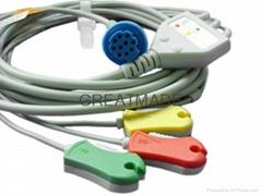 徳恩一体式电缆及3导夹式欧标导联线