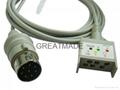 Nihon Kohden JC-005P ecg  trunk cable