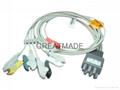 Colin BP88 ECG 5-Lead grabber leadwires
