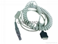 GE MAC5000/5000ST 2016560-001 CAM 14 Coiled Patient Cable,