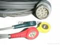 Nihon Kohden JC-763V ecg  trunk cable