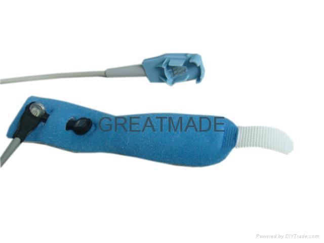 Datex-Ohmeda oxy-w-un Neonate Wrap spo2 sensor + foam tape (oxy-owm)  1