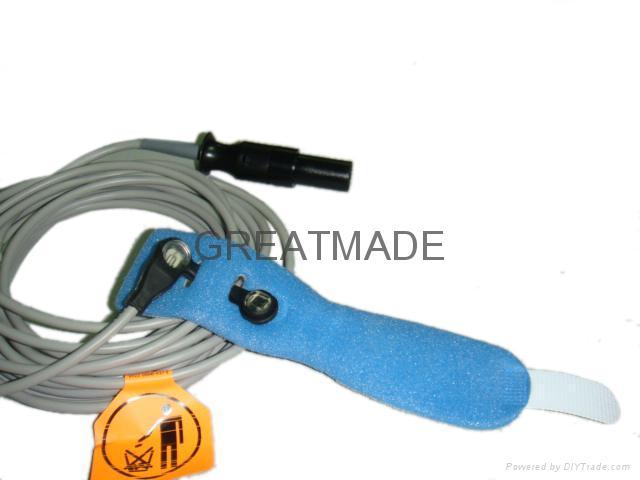 Ohmeda OXY-W4-H Neonate Wrap spo2 sensor +OXY-RWM foam type   1