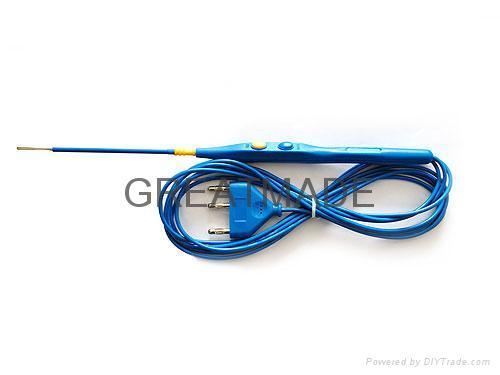 Hand control ESU pensil with 12cm length blade head