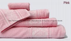 Fancy Bath Towels Set - 5pcs