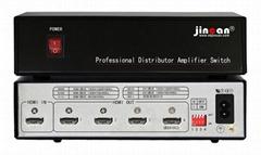 金燦4K2K HDMI分配器1進4出
