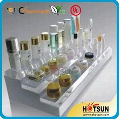acrylic cosmetic display stand countertop