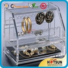 有機玻璃珠寶展示架 珠寶行業用陳列架 亞克力珠寶貨架道具