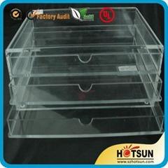 perspex Jewelry box drawer box acrylic