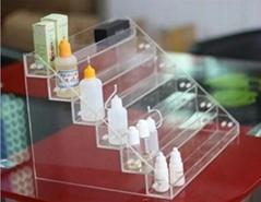 亞克力煙油瓶展示架 可拆卸電子煙展架 有機玻璃廠家