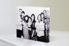 Acrylic perspex photo mount block