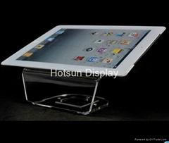 Acrylic Ipad display tablet PC case display holder