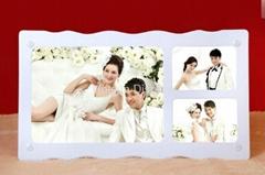 Acrylic Wedding photo frame Wedding gift desktop