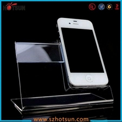 Acrylic Smart phone display holder