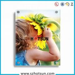 Perspex UV printing Wall-mounted Photo Printing Frame