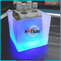 Acrylic Ice bucket with LED lighting