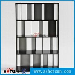 Acrylic book shelf book cabinet