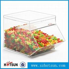 亚克力糖果盒,超市糖果盒,透明糖果盒
