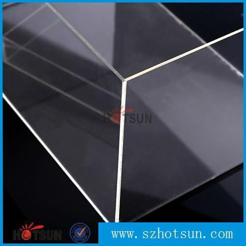 供应厂家亚克力盒子 透明产品展示盒 有机玻璃包装盒 鞋盒 5