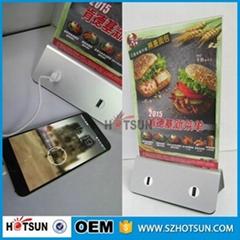 可定制高容量餐馆13000毫安餐牌移动电源