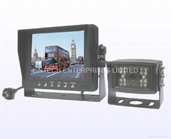 5 inch digital monitor rear view system