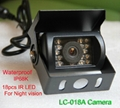 IR Night Vision CCD Waterproof Camera