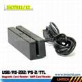 USB 90mm magnetic card reader 1