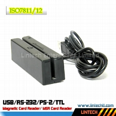 USB 90mm magnetic card reader