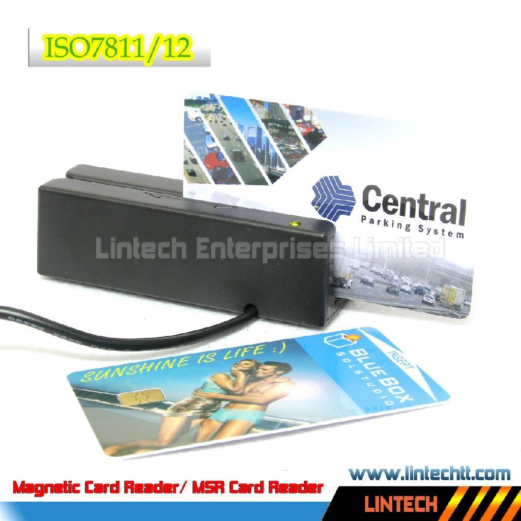 USB 90mm magnetic card reader 2