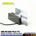 USB 90mm magnetic card reader