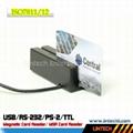 USB 90mm msr magnetic card reader