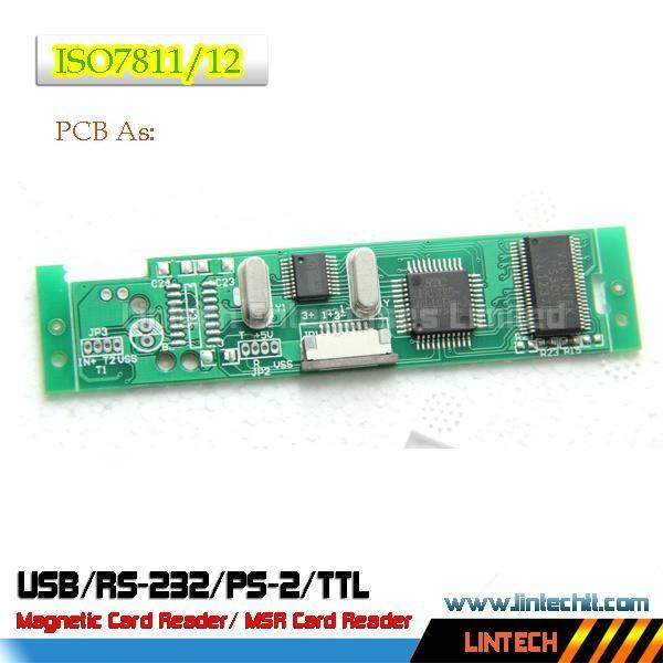 USB 90mm msr magnetic card reader 2