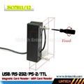 USB 90mm msr magnetic card reader 4