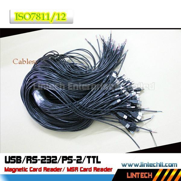 USB 90mm msr magnetic card reader 5
