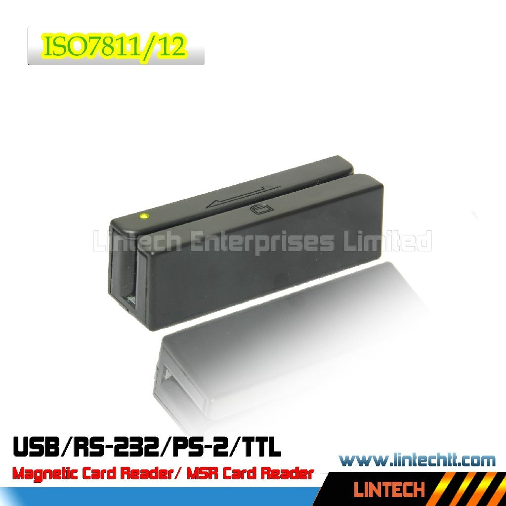 USB 90mm ISO standard magnetic card reader 1