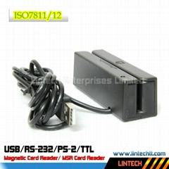 USB 90mm ISO 7811/12 standard magnetic card reader