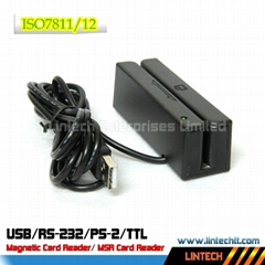 USB 90mm 3 tracks magnet